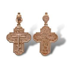 Крест Староверский золотой