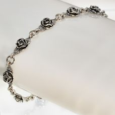 Браслет серебряный Розочка 53500