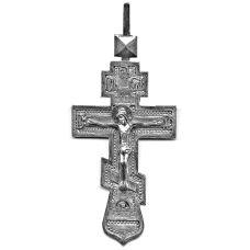 Крест Иерейский Николаевский серебряный