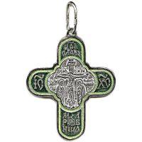Крест Славянский с эмалью