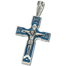 Крест Четырёхконечный с эмалью