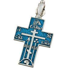 Крест Старообрядческий с эмалью