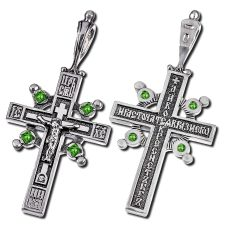 Крест Имисса с фианитами