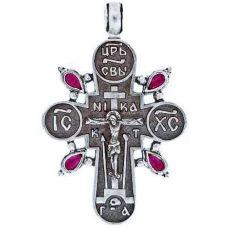 Крест Просфорный торжественный с фианитами