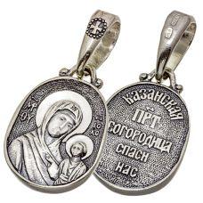 Образок Казанская икона Божией Матери