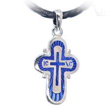 Крестик православный «Праздничный» с эмалью
