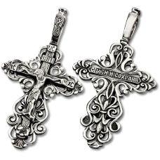 Крест Ажурный с Распятием 17811