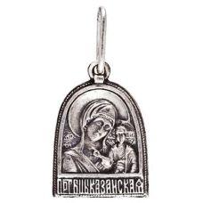 Образок Казанская Матерь Божья
