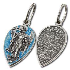 Кулон Ангел Хранитель с эмалью