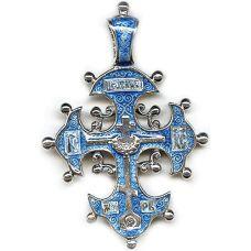 Византийский Крест с эмалью