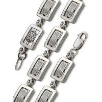 Браслет Мужской серебряный 59100