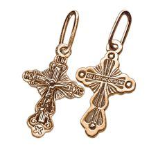 Крест Сияние позолота полностью