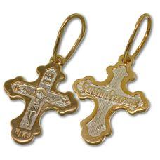 Крест Трилистник позолота
