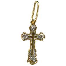 Крестик Маковка позолота