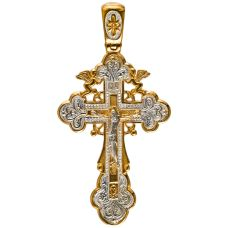 Крест И.Х. и Ангелы позолота