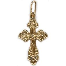 Крест Виноградный позолота полностью