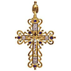 Крест Барокко позолота