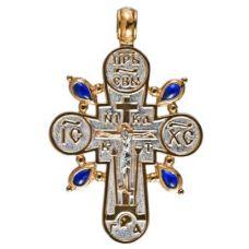 Крест Просфорный торжественный позолота