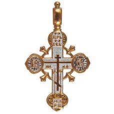 Крест Хранитель Всей Вселенной позолота