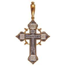 Крест НИКА позолота