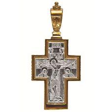 Крест Распятие позолота 92101