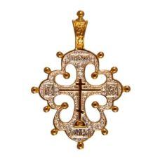 Крест Византийский позолоченный