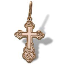 Крестик детский золотой